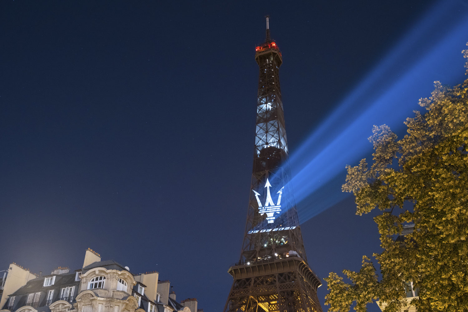 Paris projection, Street projection, mapping projection, where light falls